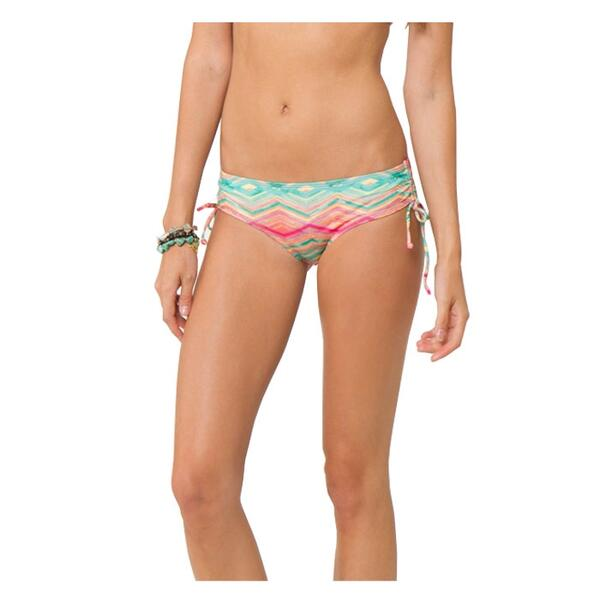 O'neill Jr. Girl's Sunsets Cinched Tie Side Bikini Bottoms