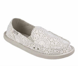 Sanuk Women's Donna Crochet Sidewalk Surfer Shoes