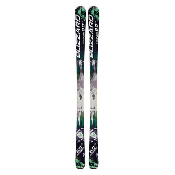 Blizzard Men's Magnum 8.0 CA All Mountain Skis '13 - Flat