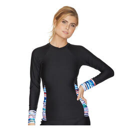 Next By Athena Women's Perfect Alignment Detox Long Sleeve Surf Shirt