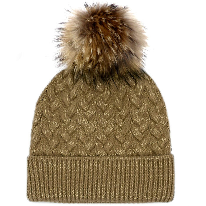 Mitchies Matchings Women's Knit Hat With Ra