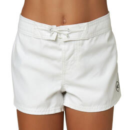 "O'Neill Girl's Saltwater Solids 2"" Boardshorts"