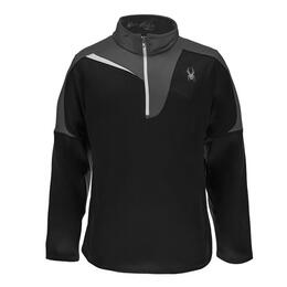 Spyder Men's Charger Therma Stretch T Neck Sweater