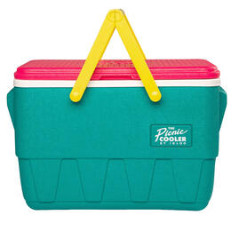 Igloo Retro Picnic Basket 25 Qt Cooler