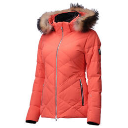 Descente Women's Anabel Down Jacket With Faux Fur Trim