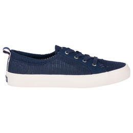 Sperry Women's Crest Vibe Mesh Casual Shoes Navy