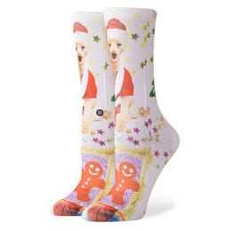 Stance Women's Mrs Paws Crew Socks