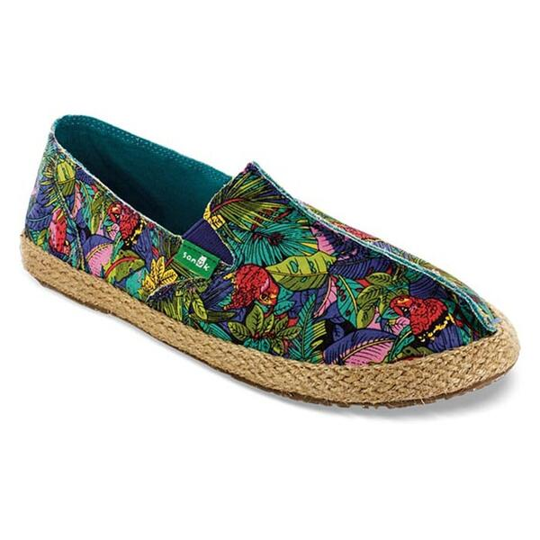 Sanuk Women's Toe The Line Casual Slip Ons