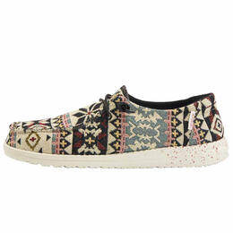 Hey Dude Women's Wendy Woven Aztec Shoes