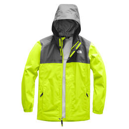 The North Face Boy's Resolve Reflective Colorblock Rain Jacket