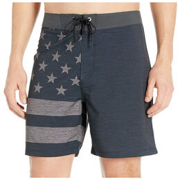 Hurley Men's Phantom Patriot 18in Boardshorts
