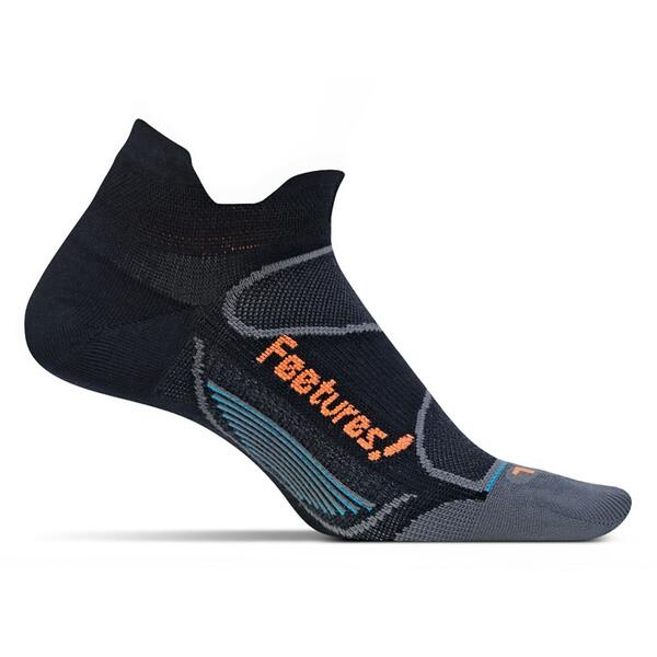 Feetures Men's No Show Tab Elite Ultra Light Cushion Socks