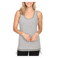 Lucy Women's Dashing Stripes Tank Top Grey Front