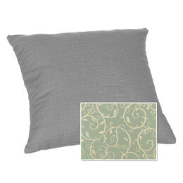 Casual Cushion Corp. 15x15 Throw Pillow - Cabaret Blue