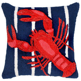 Trans-Ocean Frontporch Lobster on Stripes 18