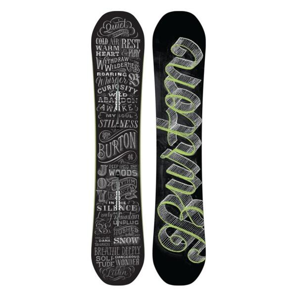 Burton Women's Deja Vu Flying V All Mountain Snowboard '14