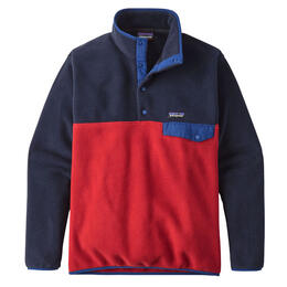 Patagonia Men's Lightweight Synchilla Snap-T Long Sleeve Fleece Pullover