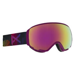 Anon Women's WM1 Snow Goggles with Pink Cobalt Lens