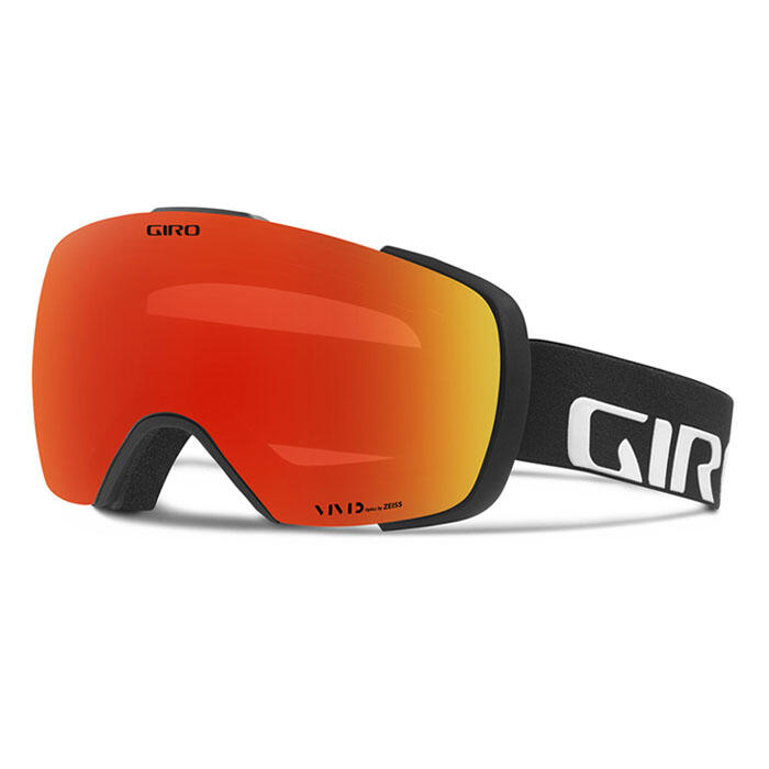 Giro Contact Snow Goggles with Vivid Ember
