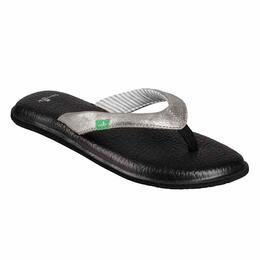 Sanuk Women's Yoga Chakra Metallic Sandals