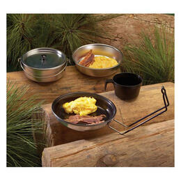 Texsport Aluminum 5-Piece Mess Kit