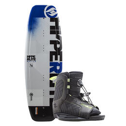 Hyperlite Boy's Motive Jr Wakeboard W/ Remix Bindings '18