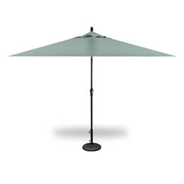 Treasure Garden 8x10' Auto Tilt Umbrella - Black with Spa
