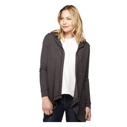 good hYOUman Women's Kimberly Thermal Hooded Cardigan