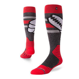 Stance Men's Crab Grab All Snow Socks Red