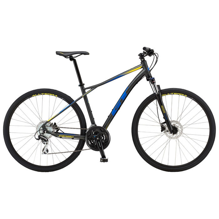 GT Bicycles Men's Transeo Elite Mountain Bi