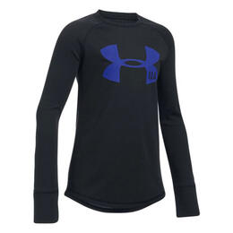 Under Armour Girl's Infrared ColdGear Knit Long Sleeve Shirt