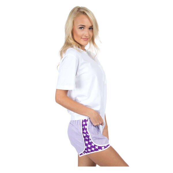 Alt=Lauren James Women's Tcu Seersucker Shorts