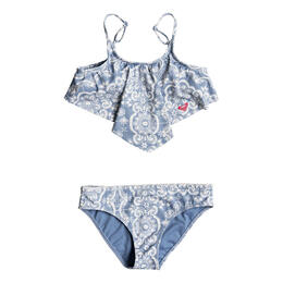 Roxy Girl's Nautical Bandana Bikini Set
