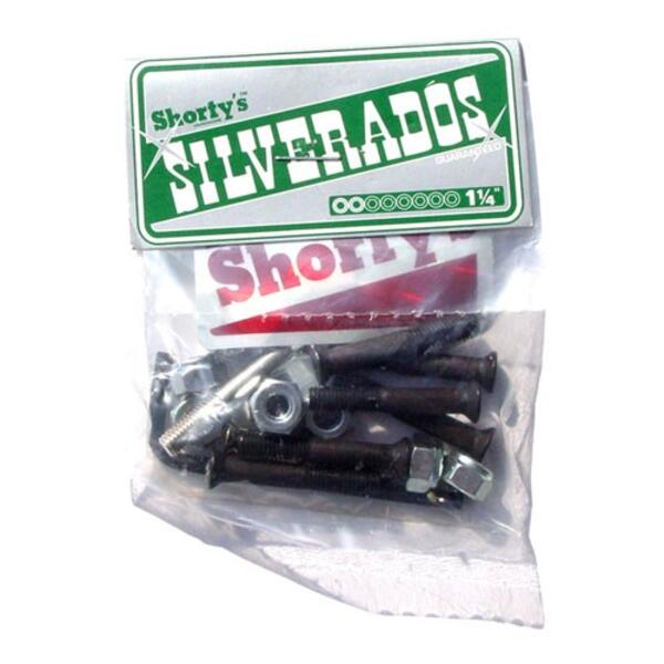 "Shorty`s Silverados 1 1/4"" Allen Skateboard Hardware"
