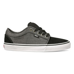 Vans Men's Black/Dark Grey Chukka Low Shoes
