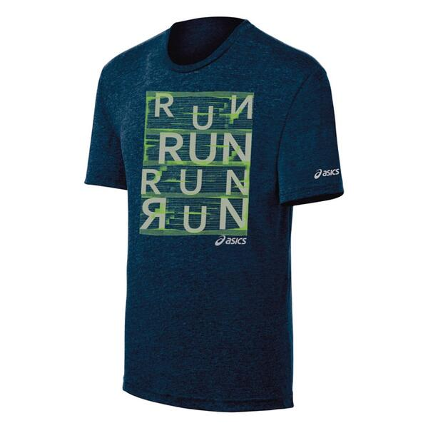 Asics Men's Urban Run Short Sleeve Running Shirt