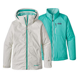 Patagonia Women's 3-in-1 Snowbelle Insulated Ski Jacket