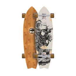 Arbor Sizzler Bamboo Complete Longboard '16