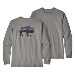 Patagonia Men's Long-Sleeved Fitz Roy Bison Responsibili-Tee Shirt