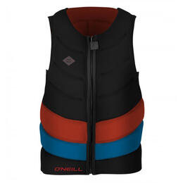 O'Neill Men's Gooru Tech Front Zip Wakeboard Comp Vest