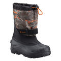 Columbia Youth Powderbug Plus II Printed Winter Boots Right Angle