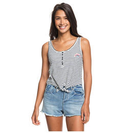 Roxy Women's Sweet Symphony Tie Front Tank Top