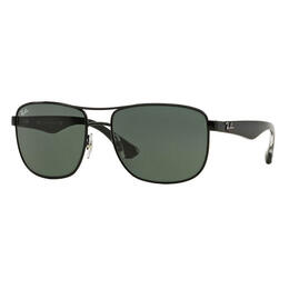 Ray-Ban RB3533 Sunglasses With Green Classic Lenses