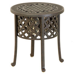 "Hanamint Berkshire 20"" Round Ice Bucket Side Table"
