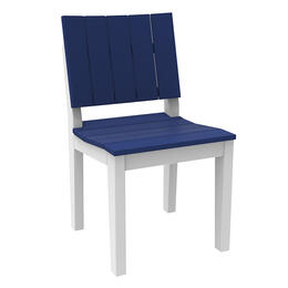 Seaside Casual Mad Fusion Dining Side Chair Navy