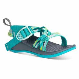 Chaco Girl's ZX/1 EcoTread Sandals Puzzle Opal