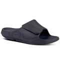 Oofos Men's Ooahh Sport Flex Slides alt image view 2