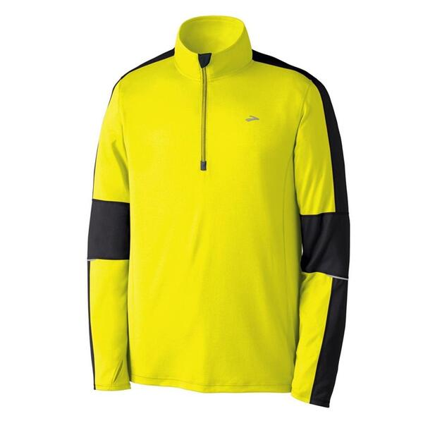 Brooks Men's Nightlife Ess Long Sleeve Full Zip Running Jacket