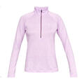 Under Armour Women's UA Tech™ Twist Half Zip Top alt image view 4