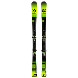 Volkl Men's Deacon 79 Skis with WideRide XL Bindings '20